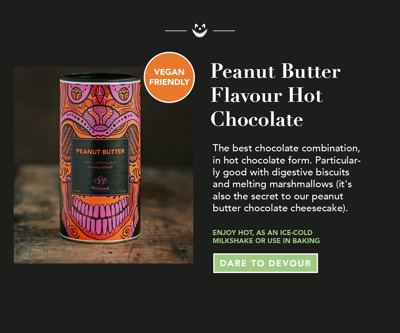Peanut Butter Flavour Hot Chocolate